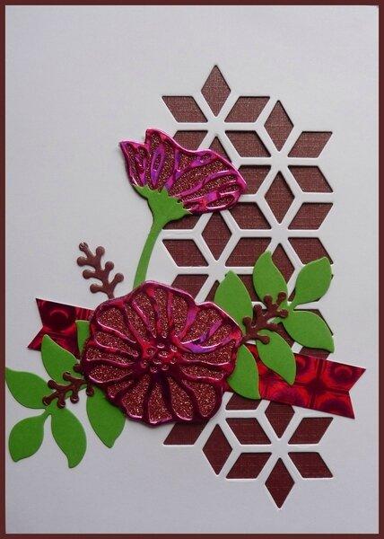 So éclectique rose métallisé