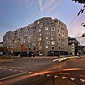 La façade du bâtiment kiss en suisse