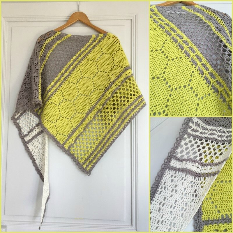 hotel of bees shawl