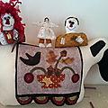Poupée, Père Noël, mouton, etc.