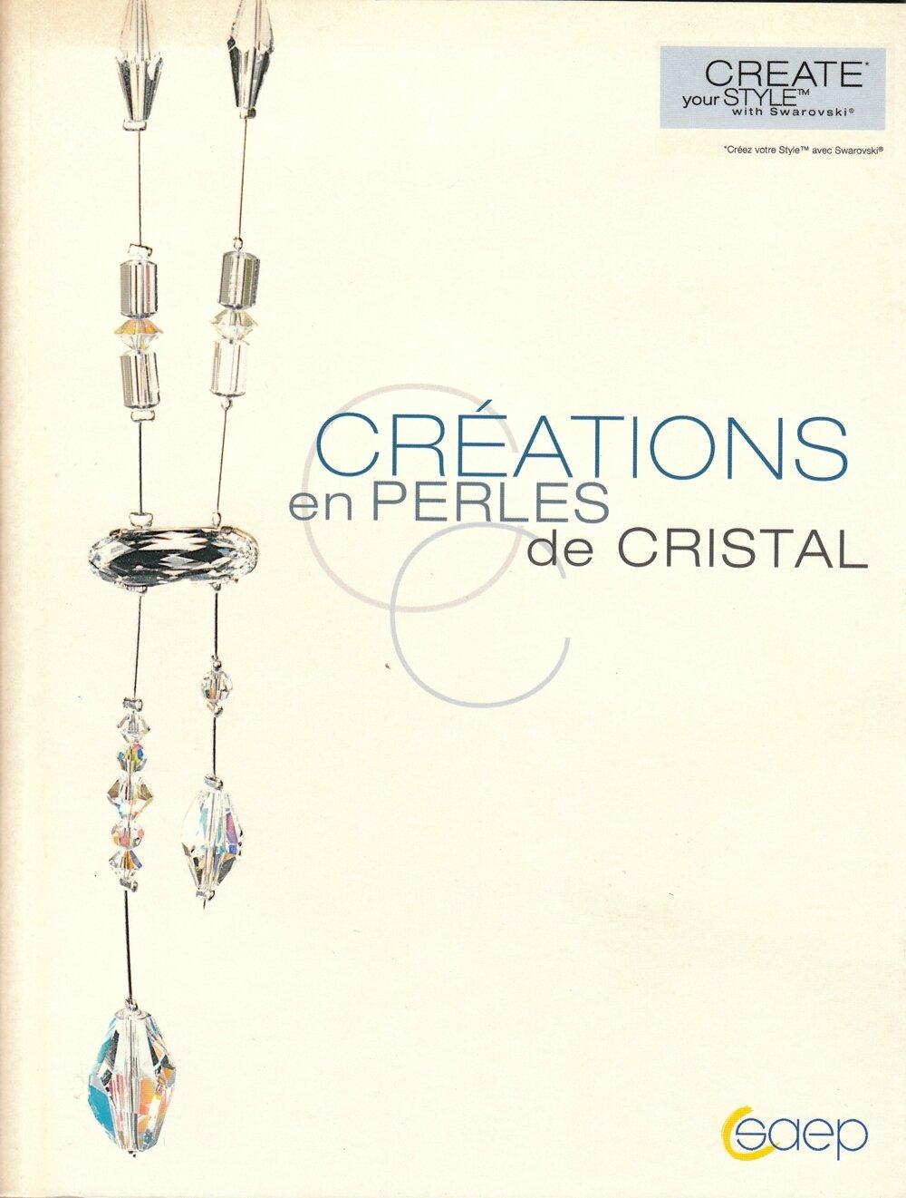 créations en perles de cristal