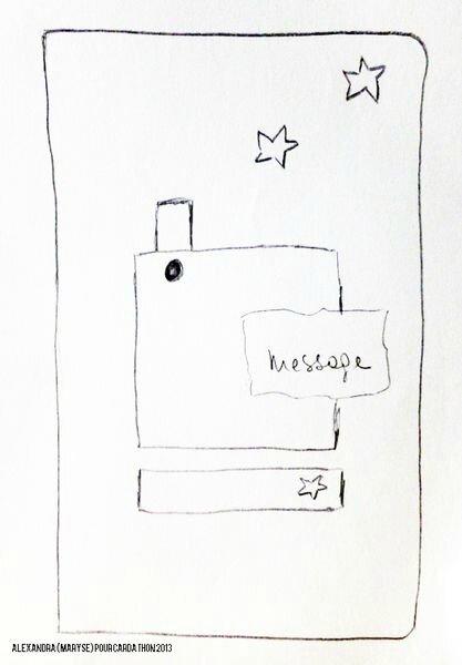 sketch alexandra sur Scrap RDV