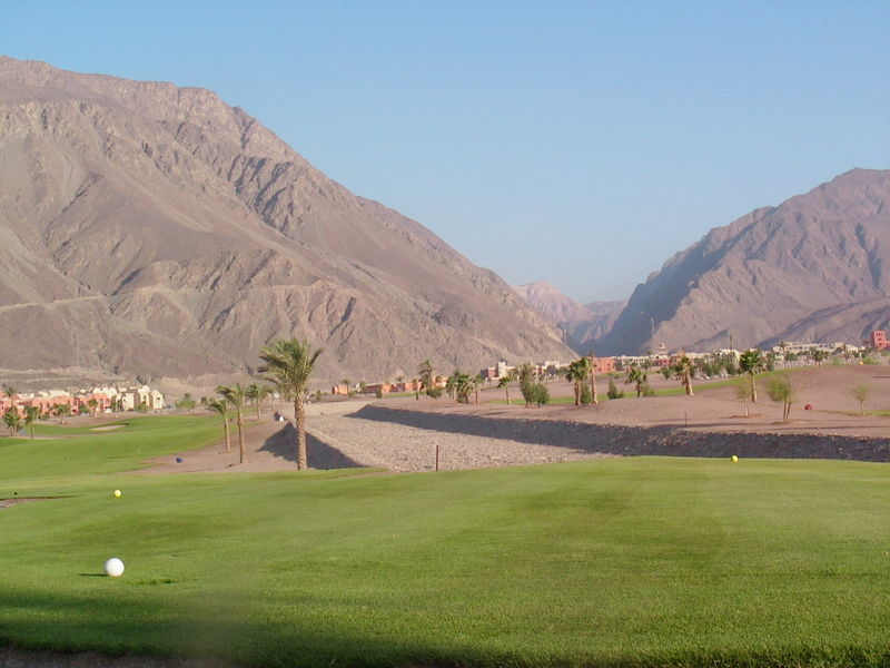 Belle vue du golf