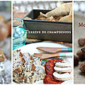 Soupe gratinée à l'oignon, terrine de champignons et moelleux aux noisettes=> 2.57€ par personne! {menu d'automne marque repère}