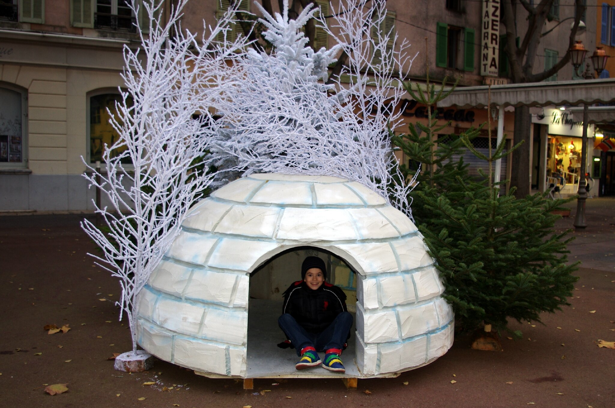 F te de la b che de la commune libre du safranier le for Fabrication de decoration de noel