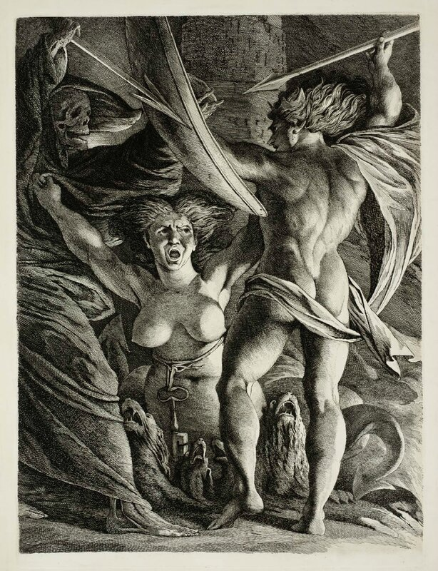 James Barry Satan, Sin and Death c