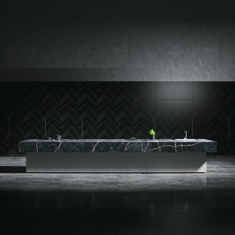 textured-black-kitchen-marbled-benchtop-concrete-floor