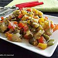 Poêlée de légumes façon orientale