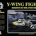Y wing gold two 1/72 finemolds