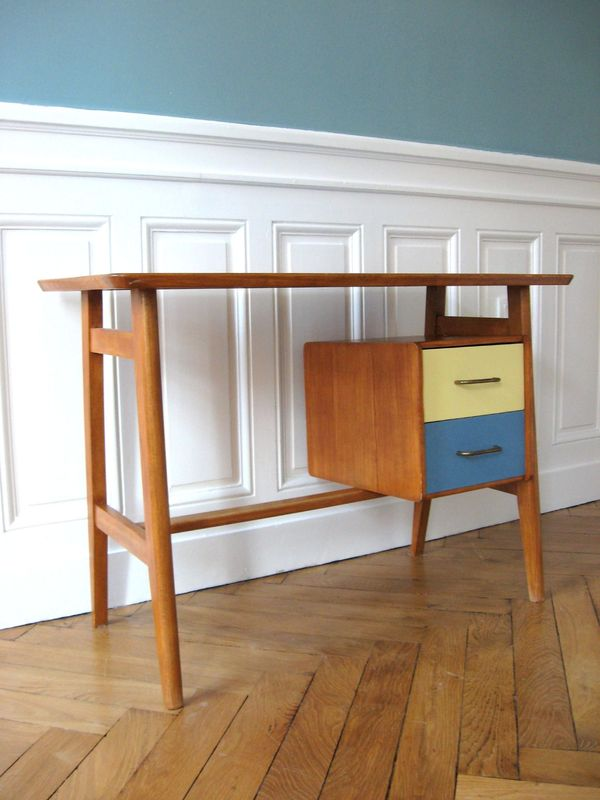 Petit bureau scandinave solveig vintage kids - Petit bureau scandinave ...