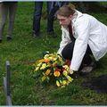 20. gedenkfeier in erinnerung an einen deutschen soldaten