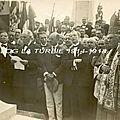 20 septembre 1925 - monument italien inauguré à la turbie