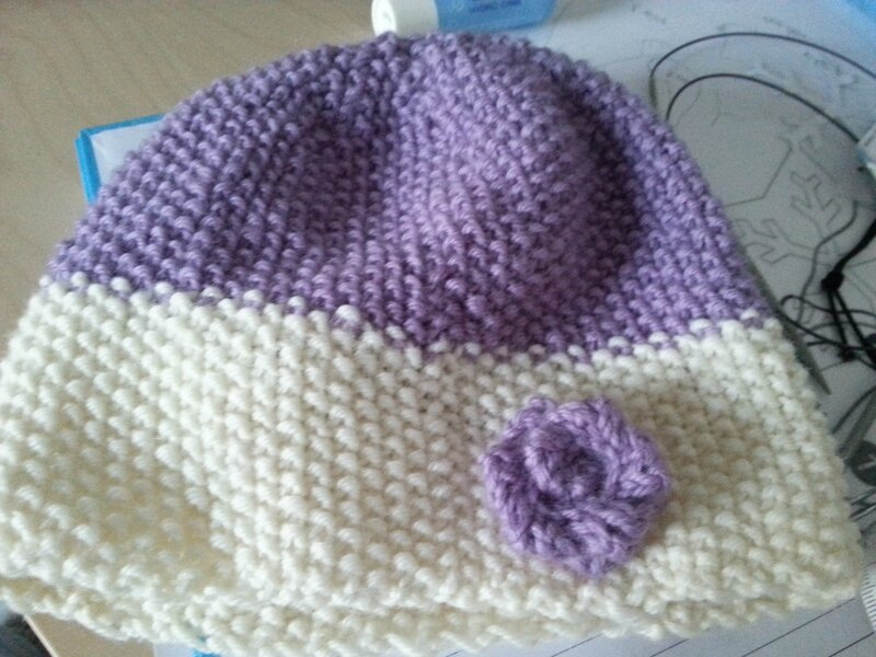 Two tone hat 2_3 ans