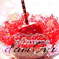 Pomme d'amour, my sweeties candles