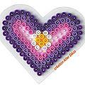 coeur en perles à repasser
