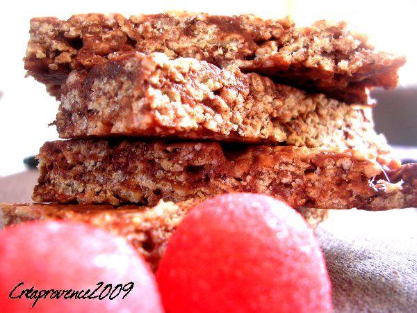 barres de cereales fraises tagada