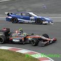 Comparatif entre une f1 et une voiture de course wtcc