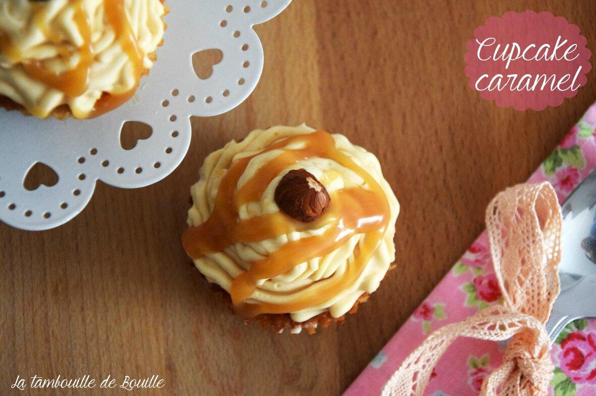 cupcake gourmand caramel