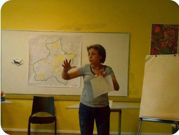 Fatima Jenn installation de la commission politique de la Ville dans le quartier Drouot