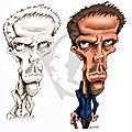 7 - Hugh Laurie - comparatif NB-Couleurs