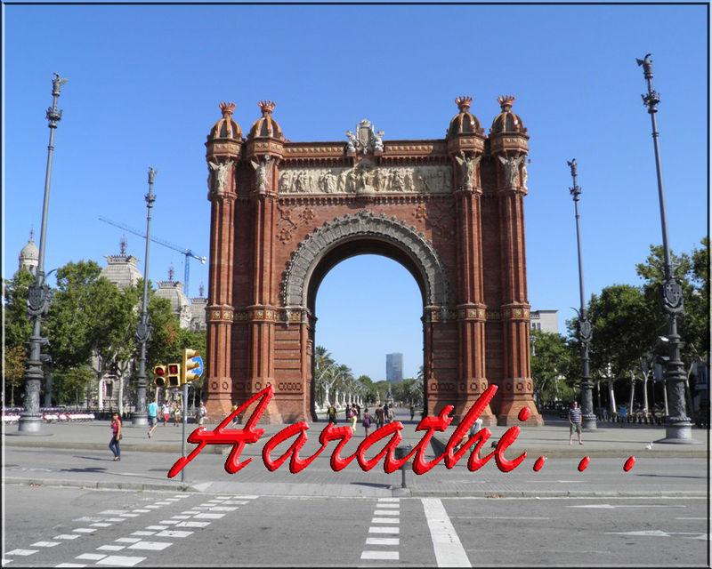 Arc de Triomf – Triumphal Arch of Barcelona