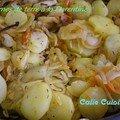Pommes de terre à la florentine
