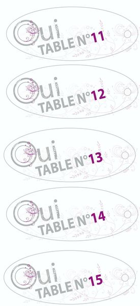 Plan de table - 3