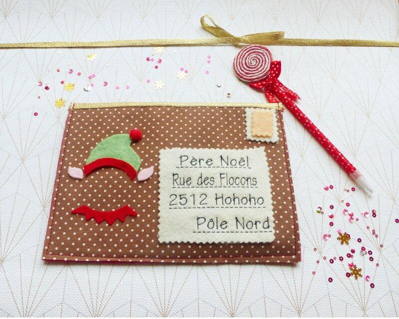 lettre-père-noël-feutrine-enveloppe-letter-santa-felt