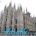 Cathedral of santa maria nascente - duomo di milano , milan.