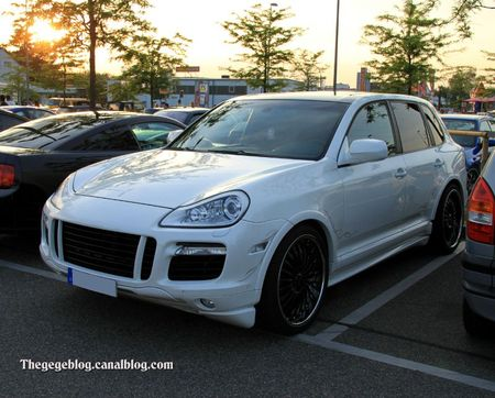 Porsche cayenne tuning (Rencard Burger King mai 2011) 01