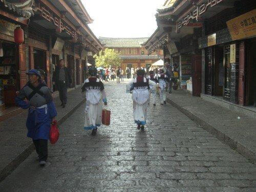 Scene de rue, Lijiang