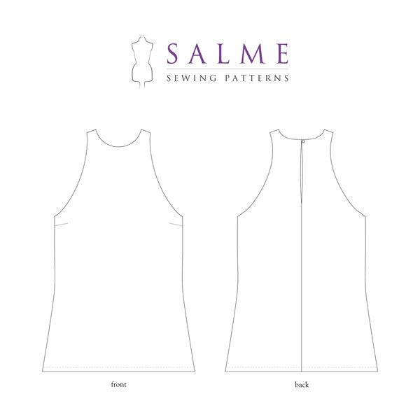 Salme Patterns - Hannah Top