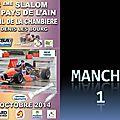 Slalom Pays de l'Ain 2014 - Manche 1