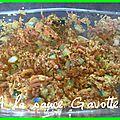 Quinoa aux légumes et au curcuma avec l'omnicuiseur