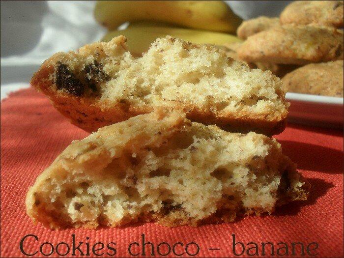 cookies choco-banane 1