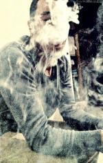 Hebus fumée cigarette
