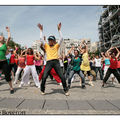 16. Flashmob  Paris pour Michael Jackson.