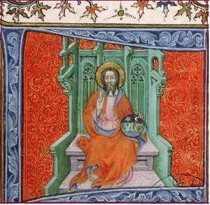 dieu en majesté - Vita Christi de Ludolphus Saxo 1380