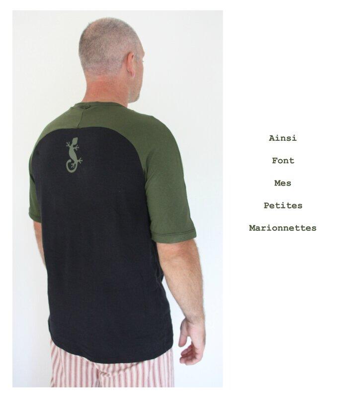 tee shirt vert gecko charly 6