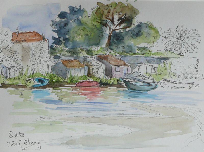 34-Sète - étang