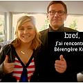 Bérengère krief invite son public à se taguer sur facebook