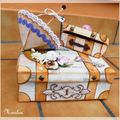Défi sur Coeur de Scrap - la valise de Linda