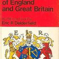 Kings and queens of england and great britain devised and edited by eric r. delderfield