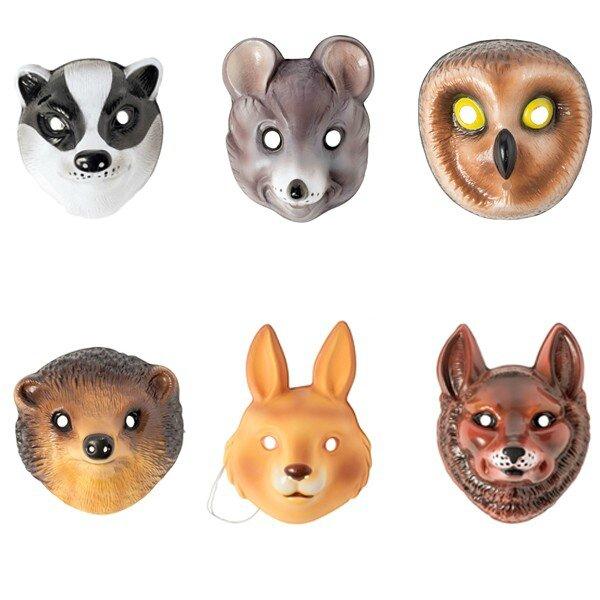 masque-animaux-de-la-foret