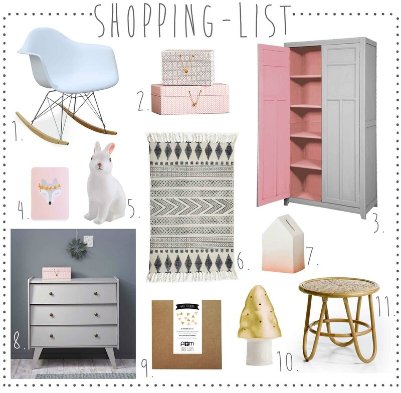 Wish-list-chambre-bébé-enfant-fille-jeanne-decotrendy