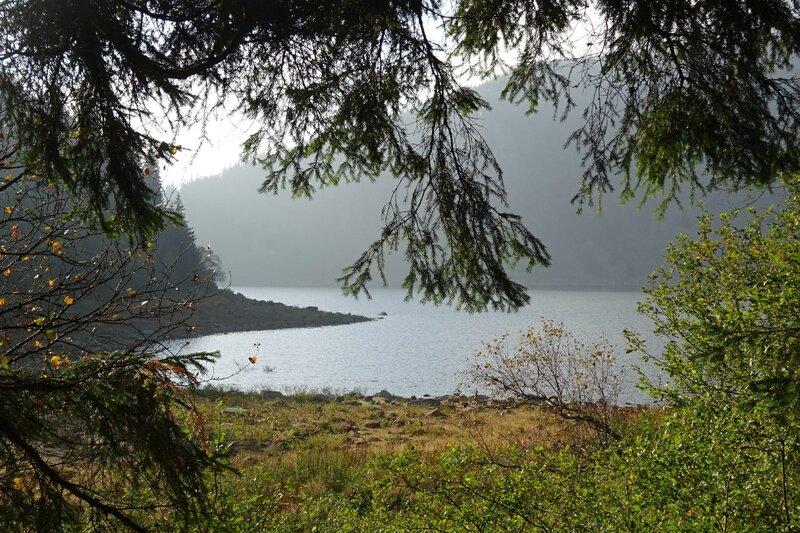 le lac Blanc (1050m)