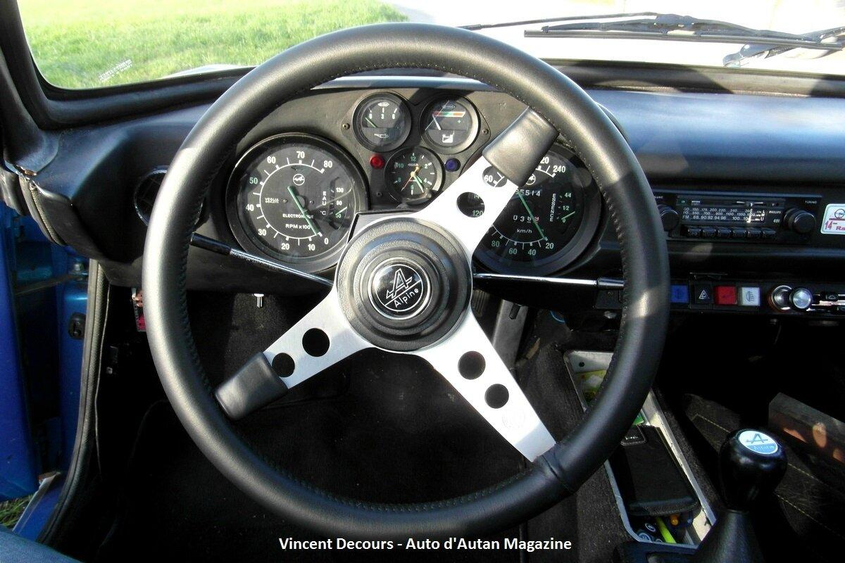 Alpine berlinette a110 sx de 1977 automobiles d 39 antan for Chauffage interieur voiture