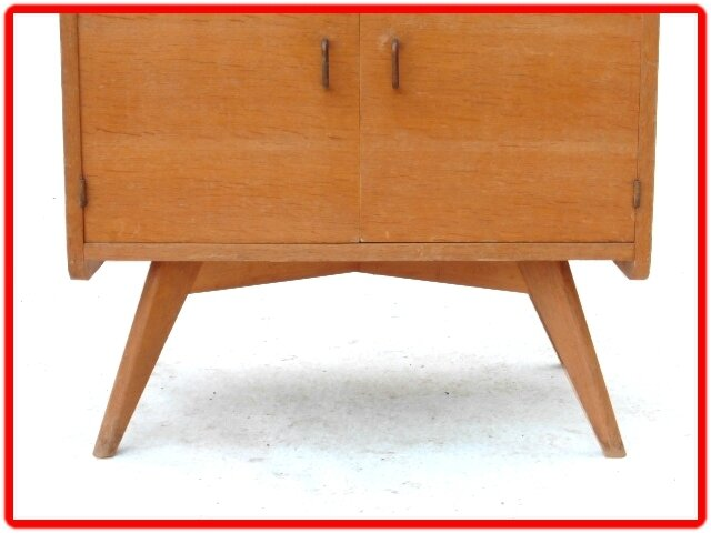 commode vintage scandinave années 1950