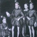 Portrait du roi et de sa famille vers 1564. le
