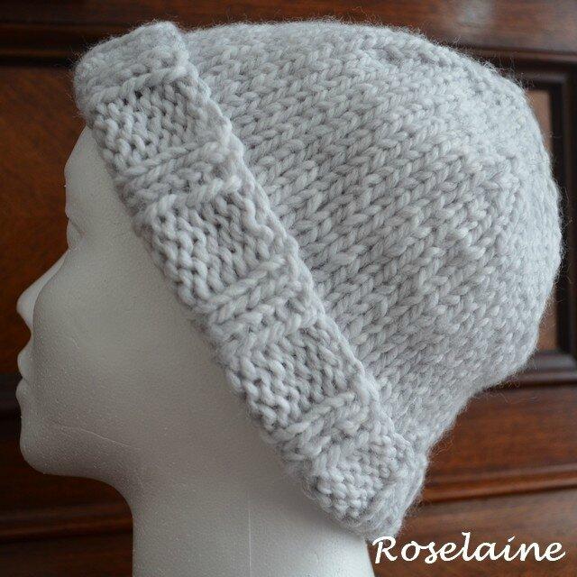 Roselaine Bonnet tricot 1